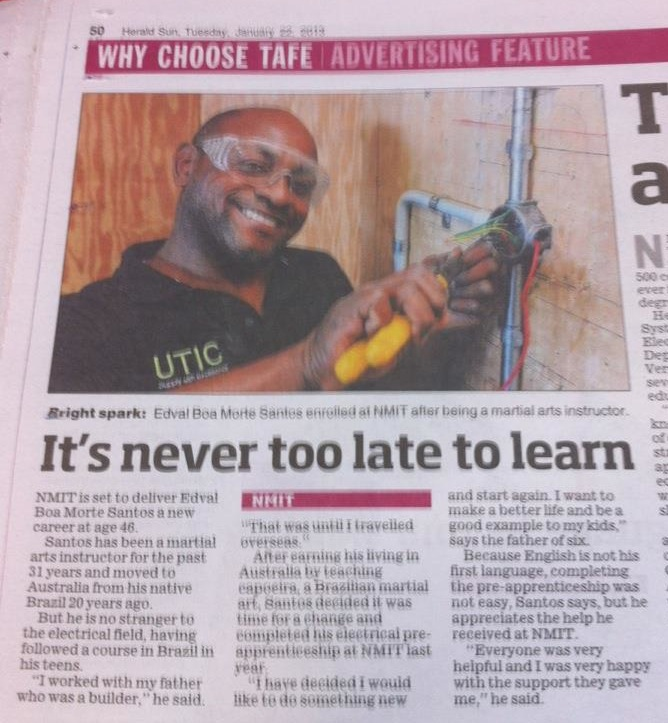 its never too late to learn
