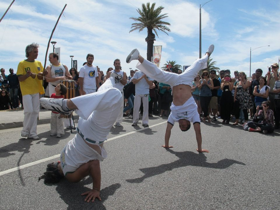 Capoeira CFdB St Kilda Festival 2013